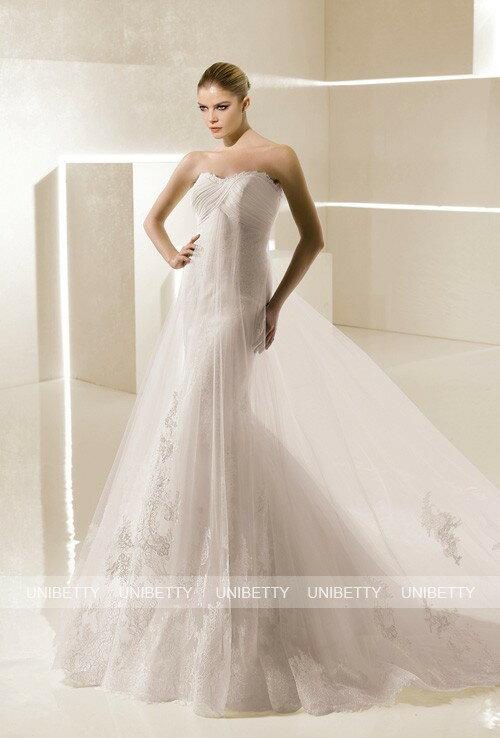 ウェディングドレス サイズオーダー無料 オーダードレス ウエディング マーメイドライン WEDDING DRESS 結婚式 披露宴 演奏会 二次会 花嫁 WS2156
