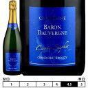 ショッピングUV シャンパーニュ バロン・ドーヴェルニュ[キュヴェ・サフィール ドザージュ・ゼロ グラン・クリュ]泡・白 750ml Baron Dauvergne[Cuvee Saphir Dosage Zero Grand Cru]Champagne フランス シャンパン スパークリングワイン Champagne