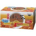(まとめ)AGF 新茶人ほうじ茶スティック 100P/1箱【×2セット】〔沖縄離島発送不可〕