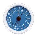 (まとめ)タニタ アナログ温湿度計 ブルーTT-515-BL 1個【×10セット】