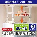 【地震対策】【2本セット】【取り付け高さ 30cm〜45cm...