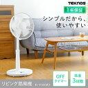 TEKNOS リビングメカ式扇風機 KI-1735I冷房 せ...
