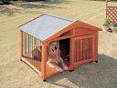 大型犬用犬舎 サークル犬舎 CL-1400 ブラウン