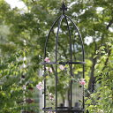 G-Story オベリスクスリム GSTR-RC15 ブラック【D】【バラ、クレマチスなどのつる性植物に!庭園 ガーデニング アプローチ 玄関 ローズガーデン イングリッシュガーデン】【RCP】
