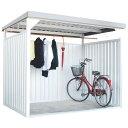 万能物置 ロング シルバー DM-10L送料無料 物置 小屋 自転車 屋外 多目的 ダイマツ 【TD】 【代引不可】