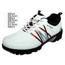 LYNX スパイクレスシューズ ホワイト LXSH-7569ゴルフ 靴 スポーツ ごるふ リンクス 25cm?28cm【D】
