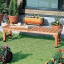 ベンチ BN-1500【園芸 ガーデン 屋外 ベンチ 足元 段差ベンチ ベンチ 木製ベンチ 屋外 ガーデンベンチ ベンチ チェア 木製ベンチ】