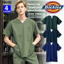 【Dickies/ディッキーズ】 7045SC スクラブ 医療用白衣 FOLK フォーク SS S ...
