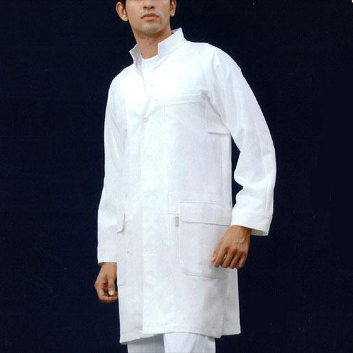【医療白衣】メンズドクターコート LKM701-0100 アシックス
