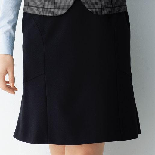 【事務服】マーメイドスカート(50cm丈) 51413 オールシーズン アンジョア キレイなシルエットを実現するマーメイドスカート。