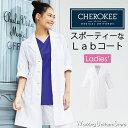 医療白衣 レディースシングルコート CH450 メディサフェイス チェロキー フォーク