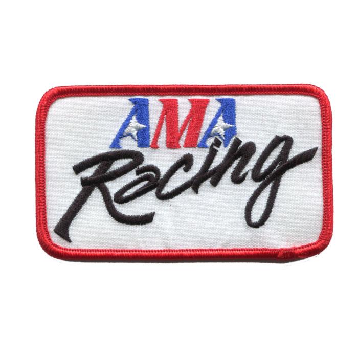 輸入ワッペン〔221-AMA Racing2〕【DM便選択可】【アイロン接着】【楽ギフ_包装】