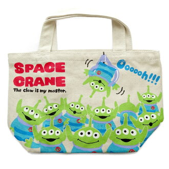 Mini Tote lunch bag ディズニーミニトート bag toy story space crane and sub!