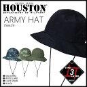 ハット 2015 S/S『HOUSTON/ヒューストン』6649 ARMY HAT / アーミーハット -全4色-「アウト