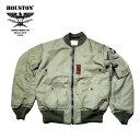 【国産】フライトジャケット『HOUSTON/ヒューストン』 5004 B-15B(MOD)FLIGHT JACKET/B-15Bモディファイ フライトジャケット-オリーブ..