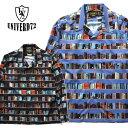 ショッピング本棚 UNIVERD72 / ユニバード72 40711 ALOHA L/S SHIRTS(BOOK) / ロングアロハシャツ(ブック) -全2色-/ポリエステル/本/オープンカラー/本棚/ユニオンネットストア[40711]