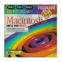 Macフォーマット済み3.5インチ2HDフロッピーディスク10枚パック maxell MF2-HD-MAC.B10P[cb]