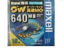 日立マクセル オーバーライト 高速 3.5型MO 640MB Windowsフォーマット 10枚パック プラスチックケース入 RO-M640.WIN.B10P[cb]