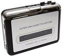 カセットテープ コンバーター カセットプレーヤー PC取り込み[cb]