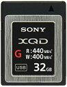 ソニー SONY XQDメモリーカード 32GB QD-G32E J[cb]
