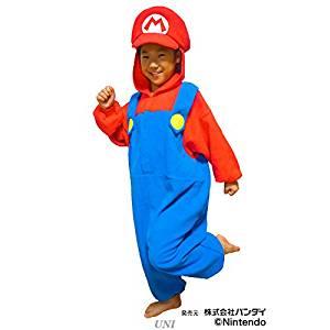 サザック フリース着ぐるみ スーパーマリオ マリオ 子