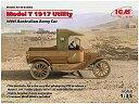 ICM 1/35 オーストラリア陸軍 T型フォード 1917年 多目的トラック プラモデル 35664[cb]