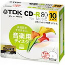 TDK CD-RM80PWX10B-BC | CD-R 80ʬ 10�� �磻�� �ץ�֥� ������ �ۥ磻�� �졼�٥�