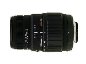 SIGMA 望遠ズームレンズ 70-300mm F4-5.6 DG MACRO ニコン用 フルサイズ対応 509552