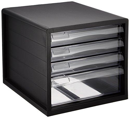 A4レターケース 書類ケース 小物整理収納 A4E-04B(ナカバヤシ)