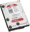 WD HDD 内蔵ハードディスク 3.5インチ 3TB WD Red NAS用 WD30EFRX 5400rpm 3年保証