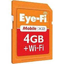 アイファイジャパン Eye-Fiカード Mobile X2 4GB for docomo ワイヤレスメモリーカード EFJ-MD-4G [PC]