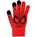 マーベル スパイダーマン スマートフォン対応手袋 レッド SPAP132