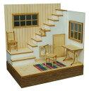 コバアニ模型工房 1/24 スウィートスタイルシリーズ 階段のある部屋 組立キット SS-021