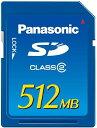 Panasonic RP-SDR512J1A SDメモリーカード(512MB)