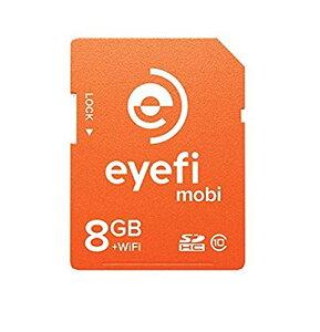 Eye-Fi Mobi 8GB SDHC Card Wi-Fi - mobi-8
