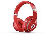 【国内正規品】Beats by Dr.Dre Studio V2 密閉型ヘッドホン ノイズキャンセリング レッド MH7V2PA/A