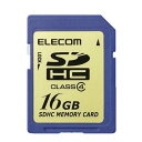 ELECOM SDHC������ class4 16GB MF-FSDH16G