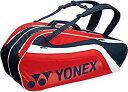 ショッピングヨネックス ヨネックス(YONEX) テニス ラケットバッグ6(リュック付) テニスラケット6本用 BAG1812R[un]