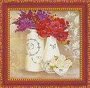 美術, 美術品, 古董, 民間工藝品 - ユーパワー Mini Gel Art ミニゲルアートフレーム キャサリンホワイト 「花盛り2」 KW-02004