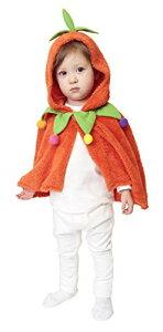もこもこパンプキンケープ ケープ マント かぼちゃ パ