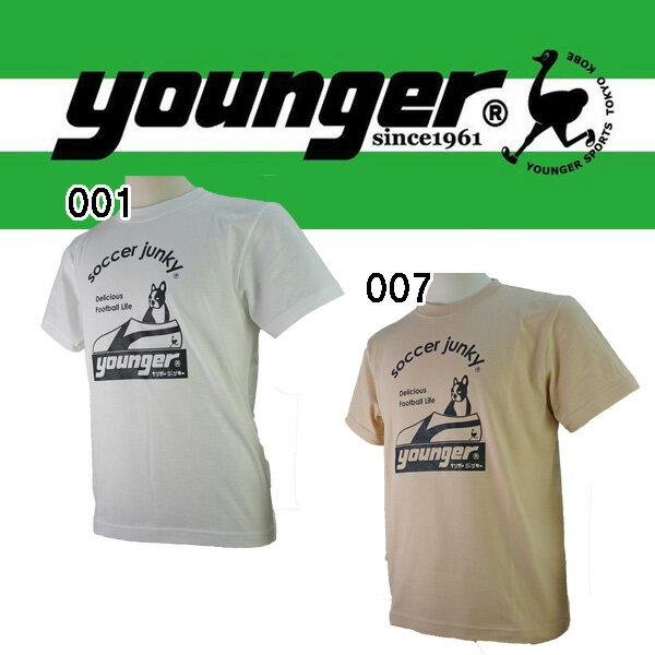 サッカーTシャツヤンガーyoungersoccerjunkyコラボTシャツyrt657