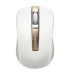 【送料無料】【Rapoo正規代理店】1台で使い分けハイブリッドマウス 2.4G & Bluetooh2モード搭載 UNIQ(ユニーク)rapoo 6610 ゴールド、ブラック☆