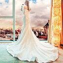 ショッピングオフショル マーメイドライン ウェディングドレス 花嫁 ドレス 長袖 結婚式 ウエディングドレス 二次会 ロングドレス オフショルダー 披露宴 ブライダル パーティードレス 演奏会 着痩せ プリンセス 優雅