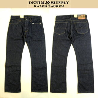 Great DENIM SUPPLY RalphLauren denim denim & supply Ralph Lauren jeans Indigo Denim bootcut BOOTCUT size 36 inch big size and 02P04Aug13