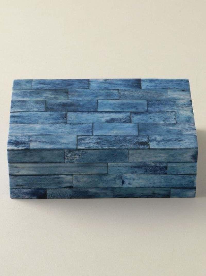 【SALE/50%OFF】UNITED ARROWS モザイクボックス ブルー S ユナイテッドアローズ 生活雑貨【RBA_S】【RBA_E】