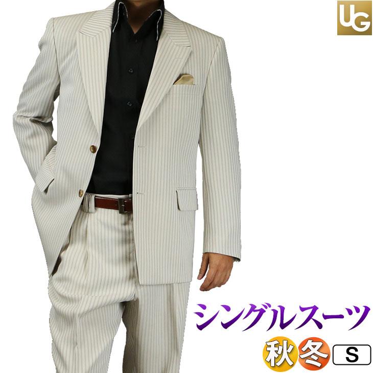 スーツ メンズ シングル2ボタン 黒シャドーストライプ ゆったりシルエット 日本製 JILL PREMIUM ジルプレミアム 秋冬春 結婚式 パーティー111161-1【RCP】【あす楽対応】【02P20Oct16】