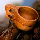【レビューを書いて】kuksa ククサ ハンドメイド 木製 コップ マグカップ 北欧 インテリア