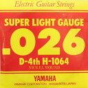 YAMAHA H1064 エレキギター用 バラ弦 4弦×6本