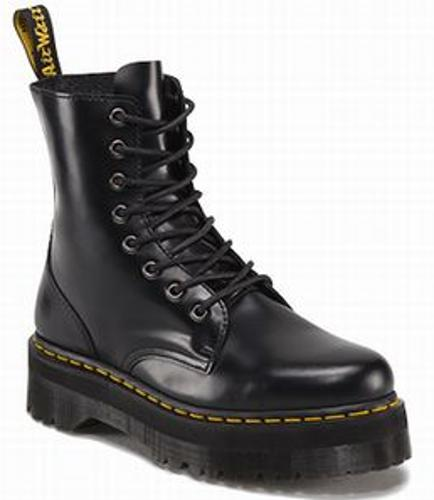 Dr.Martens Quad Retro Jadon 8 Eye Boot Black【送料無料!】