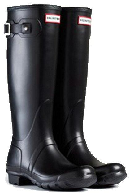 <特別価格!>HUNTER【ハンター】WOMENS ORIGINAL TALL BLACKオリジナルトール・ブラックレインブーツ ラバーブーツ 長靴 ハンター・オリジナルトール